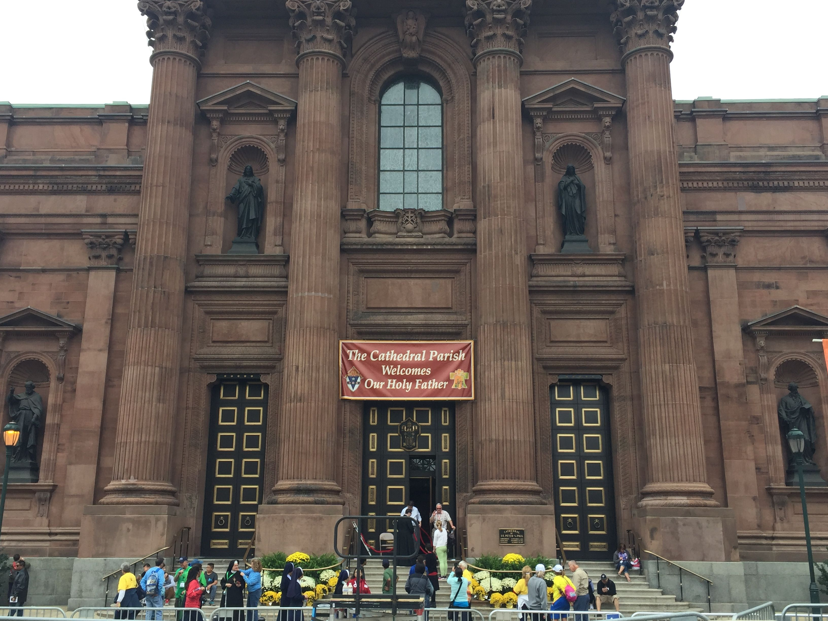 Cathedral of Sts Peter and Paul in Philly.